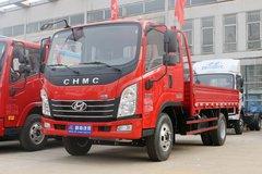 现代商用车 致道300MII 130马力 3.85米排半栏板轻卡(CNJ1041ZDB33V) 卡车图片