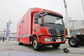 陕汽商用车 轩德E6 18T 4X2 7.75米排半纯电动厢式载货车