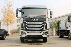 江淮 格尔发K5L 180马力 4X2 车厢可卸式垃圾运输车(HFC5180ZXXVZ)