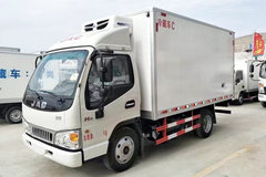 江淮 新康铃H5 156马力 4.03米单排冷藏车(HFC5043XLCP91K2C2V)