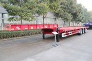 中集华骏 13.75米三轴N400低平板半挂车
