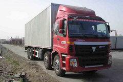 福田 欧曼CTX 6系重卡 340马力 8X4 9.5厢式载货车(BJ5317VPCJJ-1) 卡车图片