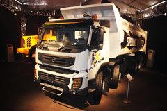沃尔沃 FMX重卡 420马力 8X4 8.6米自卸车 卡车图片