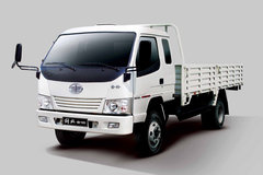一汽通用 金铃 140马力 4X2 6.2米排半栏板载货车(CA1080K35L5R5) 卡车图片