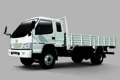 一汽通用 金铃 130马力 4X2 6.6米排半栏板载货车 卡车图片