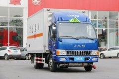 江淮 骏铃V6 130马力 4.07米易燃气体厢式运输车(顺肇牌)(SZP5040XRQHFC2)
