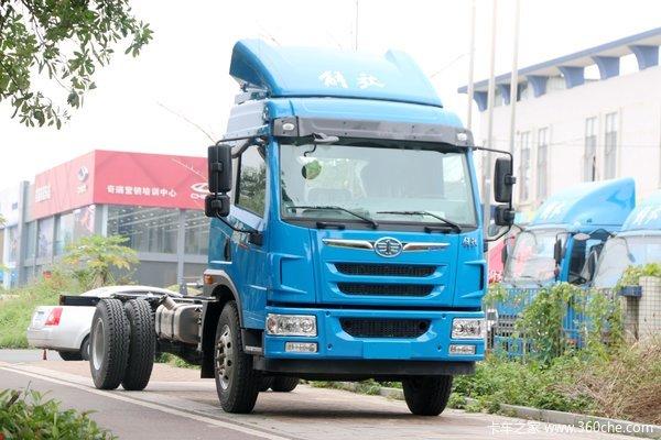 解放 麟VH 220马力 6.75米排半栏板载货车