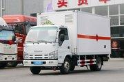 庆铃 五十铃100P 98马力 4.23米易燃气体厢式运输车(顺肇)(SZP5040XRQQL3)