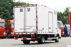 庆铃 五十铃KV600 130马力 4X2 4.03冷藏车(顺肇牌)(SZP5040XLCQL2) 卡车图片