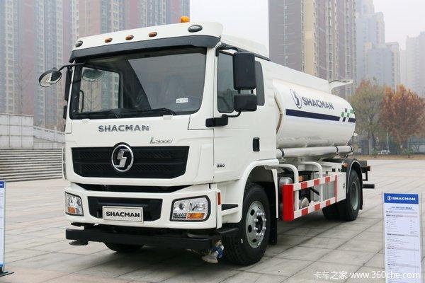 陕汽重卡 德龙L3000 复合版 220马力 4X2 洒水车(国六)(SX5189GSSLA451)