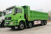 陕汽重卡 德龙H3000 8X4 8米纯电动自卸车