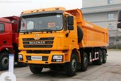 陕汽重卡 德龙F3000 超强版 430马力 8X4 7.4米自卸车 卡车图片