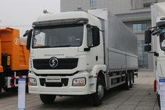 陕汽康明斯 德龙H3000 复合版 385马力 6X2 9.6米厢式载货车 卡车图片