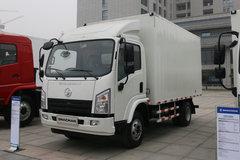 陕汽商用车 轩德X9 125马力 4X2 厢式轻卡 卡车图片