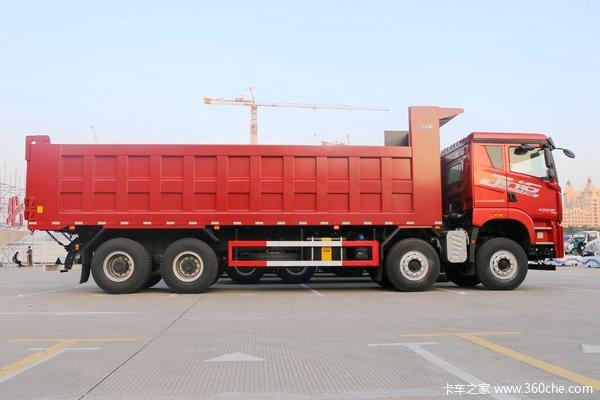 直降0.3万元青岛解放JH6自卸车优惠促销