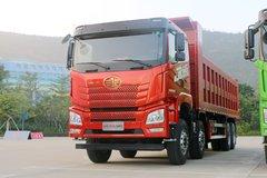 青岛解放 JH6重卡 430马力 8X4 8.2米自卸车(CA3310P27K15L6T4E5A80) 卡车图片