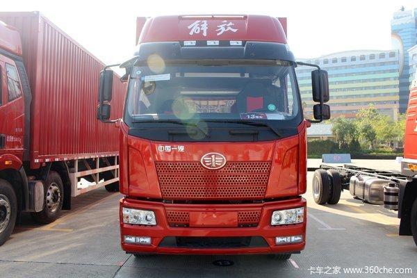 一汽解放 J6L中卡 2019款 240马力 4X2 6.75米仓栅式载货车(378后桥)