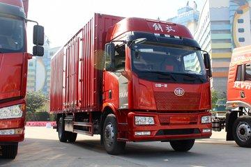 一汽解放 J6L中卡 质惠版 220马力 4X2 9.7米厢式载货车(CA5180XXYP62K1L7E5)