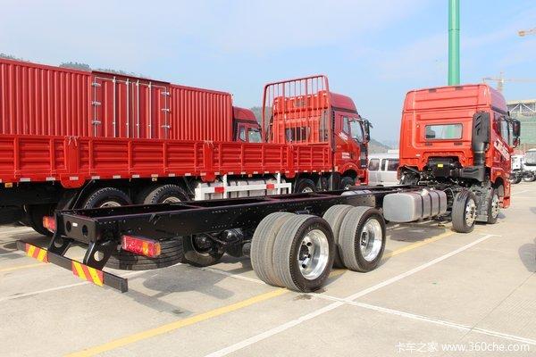 济南银月解放JH6 400马力8*4载货车钜惠1.48万元