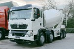 中国重汽 HOWO T5G 340马力 8X4 7.73方混凝土搅拌车(TZ5317GJBZGDE1)