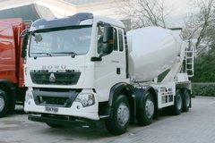 中国重汽 HOWO T5G 法规版 340马力 8X4 混凝土搅拌车(国六)(ZZ5317GJBN306GF1)