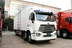 中国重汽 豪瀚N5G重卡 280马力 6X2 9.73米厢式载货车(ZZ5255XXYM56C3E1) 卡车图片