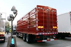 中国重汽 HOWO T7H重卡 440马力 8X4 9.5米排半仓栅载货车(ZZ5317CCYV466HE1)