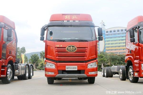 一汽解放 新J6P重卡 领航版 500马力 6X2R牵引车(CA4250P66K24T2A1E5)