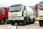 一汽解放 J6L 轻量化版 320马力 8X4 8方混凝土搅拌车(9挡)(CA5310GJBP62K2T4E5)图片