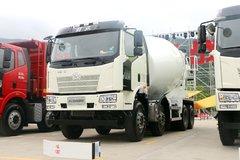 一汽解放 J6L 轻量化版 320马力 8X4 混凝土搅拌车(CA5310GJBP62K2T4E5)