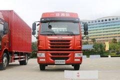 青岛解放 龙V中卡 220马力 4X2 6.7米仓栅式载货车(国六)(CA5180CCYPK15L2E6A80)