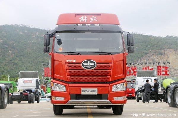 解放J6P牵引车火热促销中 让利高达0.5万