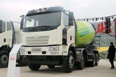 解放 J6L 轻量化版 320马力 8X4 混凝土搅拌车(凌宇牌)