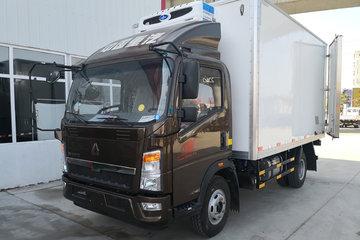 中国重汽HOWO 悍将 物流版 143马力 4X2 4米冷藏车(ZZ5047XLCF3315E145)
