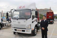 解放 J6F 160马力 单排栏板轻卡(国六)(CA1040P40K59L2E6A84) 卡车图片