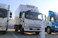 解放 J6F 160马力 4X2 5.13米冷藏车(CA5086XLCP40K2L3E5A84)