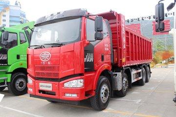 一汽解放 J6M重卡 320马力 8X4 6.5米自卸车底盘