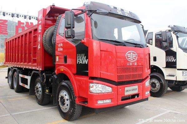 降价促销长治解放J6M自卸车仅售31.7万