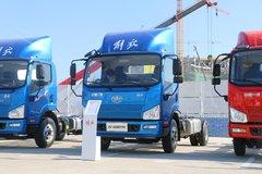 解放 J6F 高效版 165马力 4.21米单排厢式轻卡底盘(CA5043XXYP40K2L1E5A84) 卡车图片