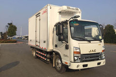 江淮 帅铃Q3 120马力 4.015米单排冷藏车(HFC5041XLCP73K2C3V)