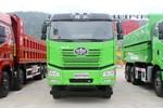 一汽解放 新J6P重卡 420马力 8X4 6.8米LNG渣土自卸车(国六)(CA3310P66M25L1T4E6)图片