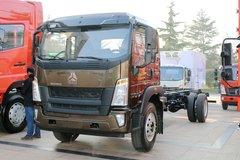 中国重汽HOWO G5X中卡 220马力 4X2 单排厢式载货车(国六)(ZZ5187XXYK561DF1)