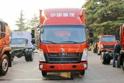 中国重汽HOWO 悍将 116马力 4.15米单排厢式轻卡(ZZ5047XXYC3315E145)