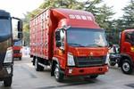 中国重汽HOWO 悍将 城配版 116马力 4.15米单排厢式轻卡(ZZ5047XXYF3315E145)图片