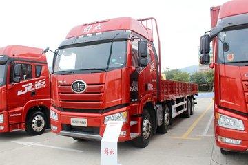 一汽解放 新J6P重卡 质惠版 460马力 8X4 9.5米栏板载货车(CA1310P66K24L7T4E5)