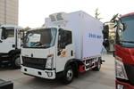 中国重汽HOWO 悍将 物流版 170马力 4X2 5.4米单排半冷藏车(ZZ5107XLCG421CE199)图片