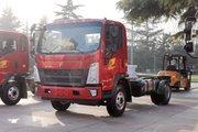 中国重汽HOWO 统帅 190马力 单排栏板轻卡底盘(国六)(ZZ1047H3315F145)