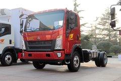 中国重汽HOWO 悍将 190马力 单排轻卡底盘(国六)(ZZ1047G3315F145) 卡车图片