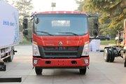 中国重汽HOWO 悍将 2019款 170马力 6.2米单排栏板轻卡(ZZ1167G451CE1)