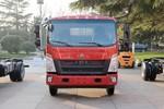 中国重汽HOWO 悍将 科技版 125马力 4.165米单排栏板轻卡(ZZ1047C3315E145)图片